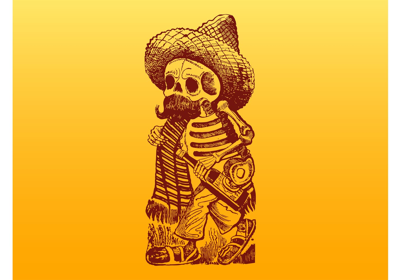 Skeleton Hand Halloween