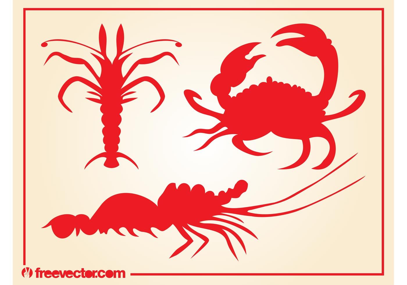 Crabs Vector - Download Free Vector Art, Stock Graphics & Images
