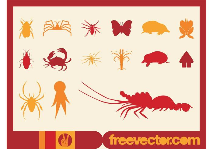 Silhouette Vector Icons