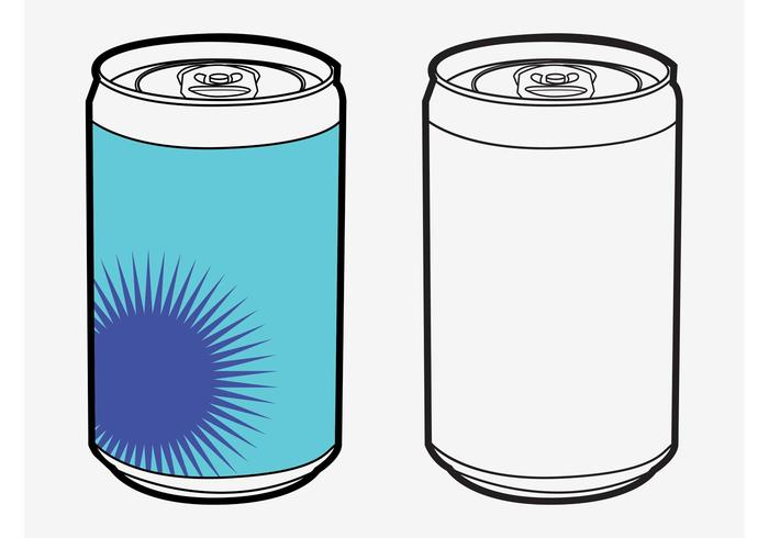 Vector Soda Cans