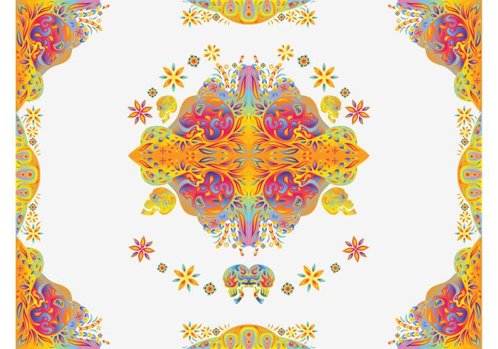 Psychedelic Vector