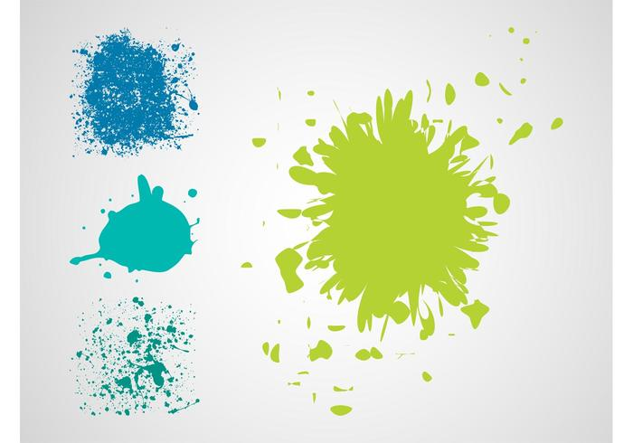Paint Splatter Vectors