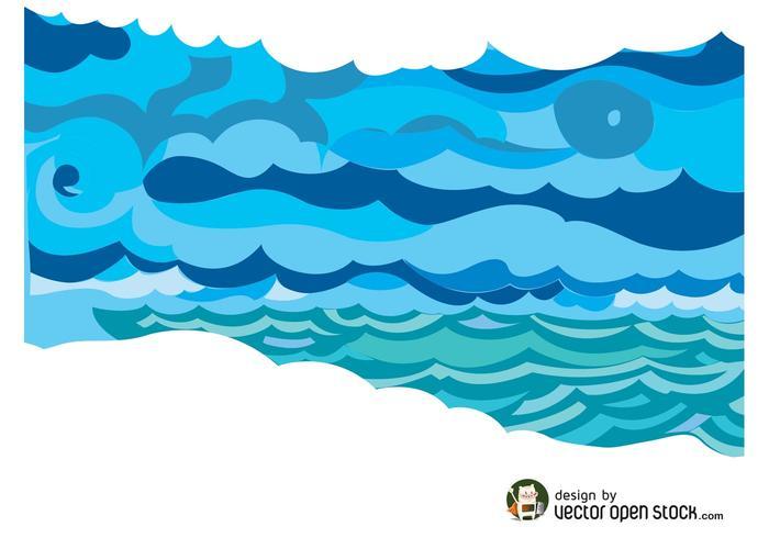 Vector de mar