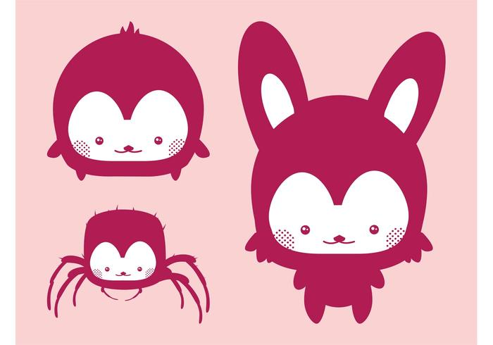 Kawaii Vector Animals