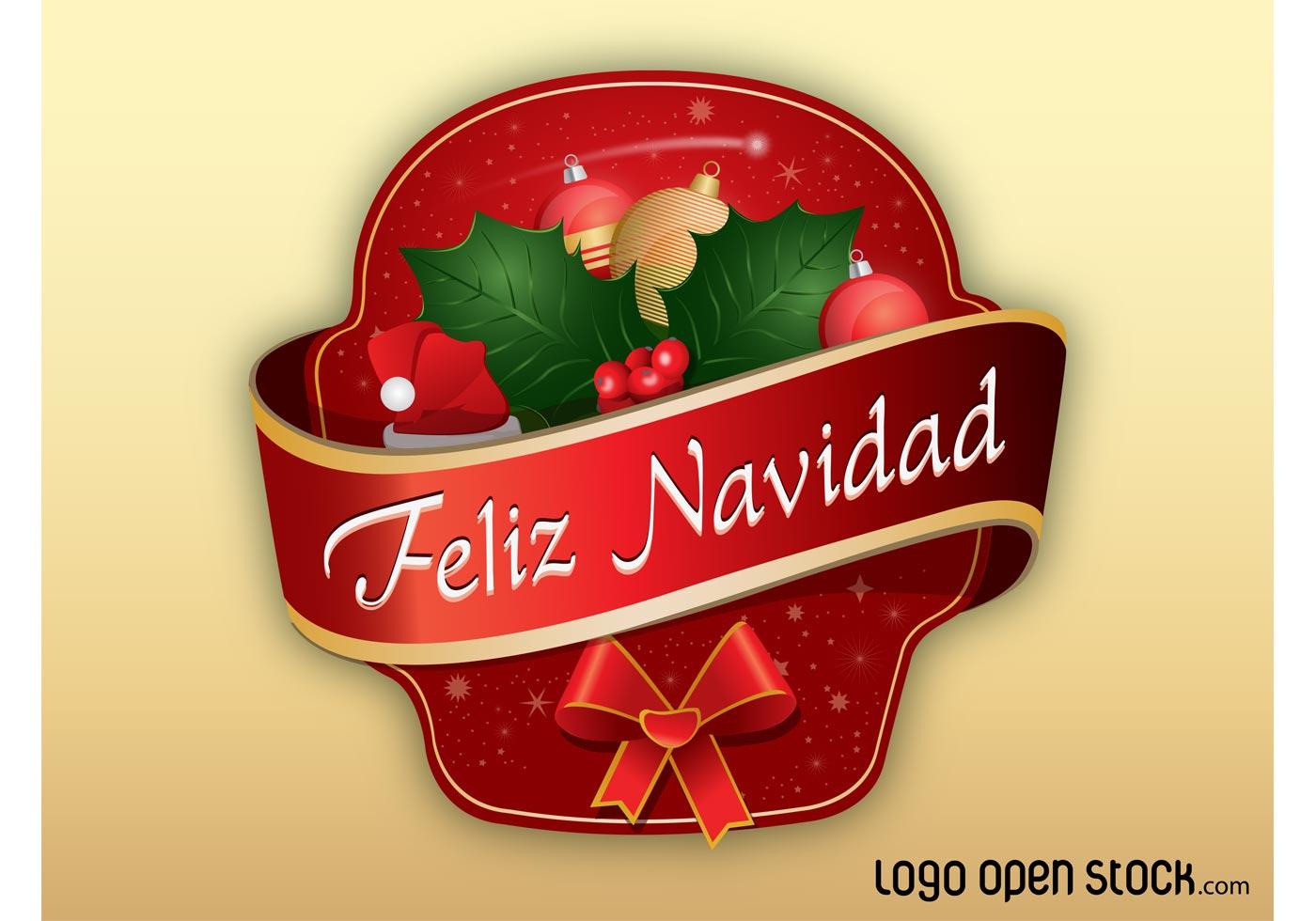 Feliz navidad download free vector art stock graphics images - Sobre de navidad para imprimir ...