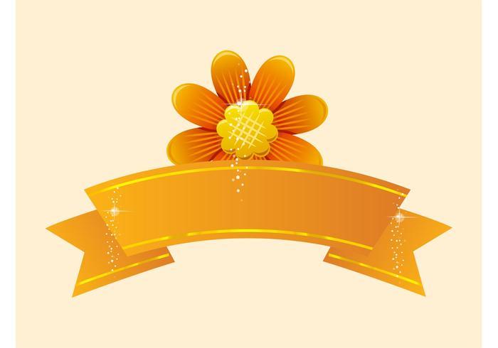 Flower Vector Banner