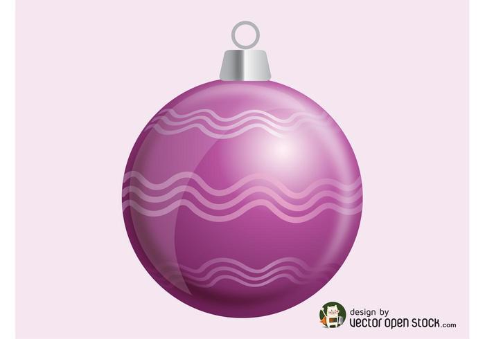 Vector Christmas Ornament