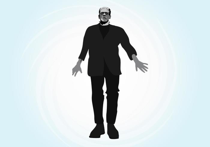 Frankenstein Vector Graphics