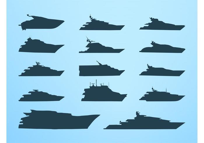 Vector Barcos