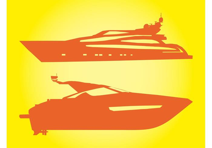 Yachts Vectors