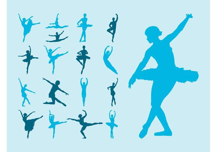 Vector Ballet Dancers