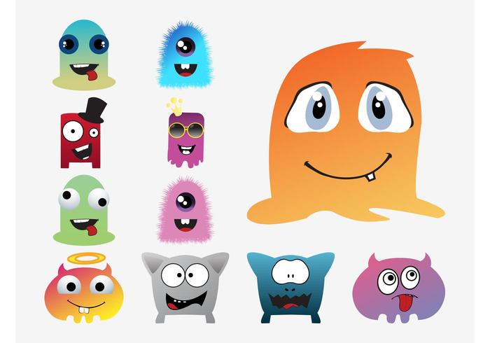 Cartoon Vector Monsters