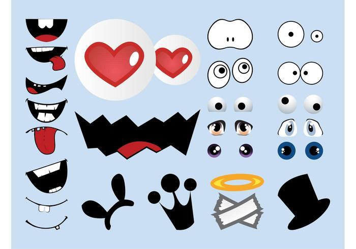 Cartoon Character Elements