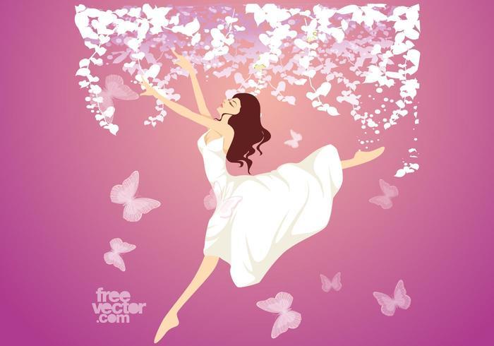 Chica saltadora