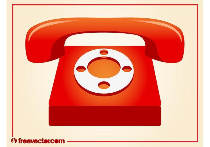 Teléfono Vector