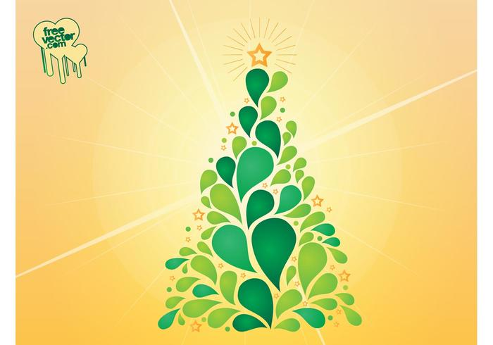 Christmas Tree Vector Design