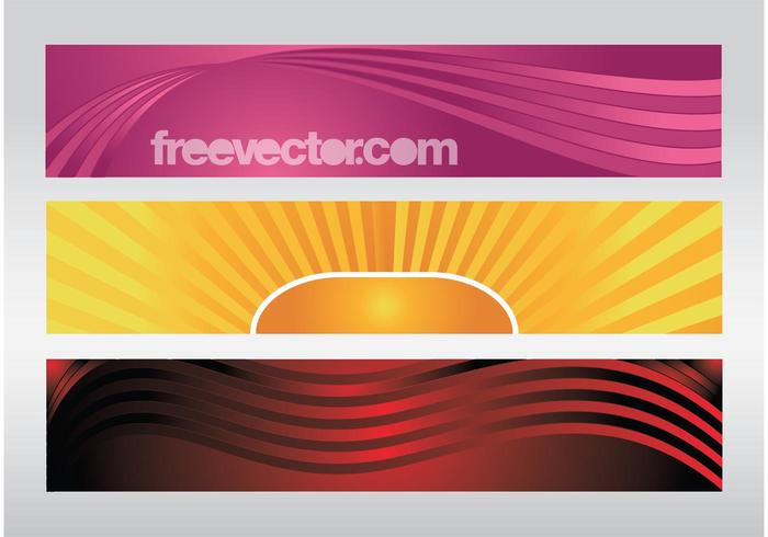 Colorful Banners Vectors