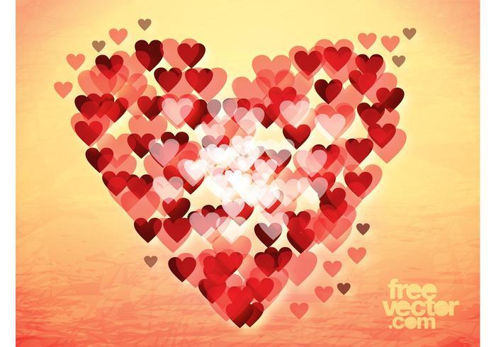 Coração bokeh