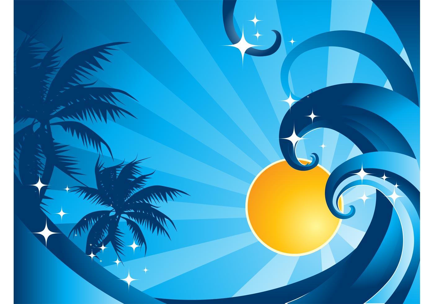 Sea Wave Vector - Download Free Vector Art, Stock Graphics ...
