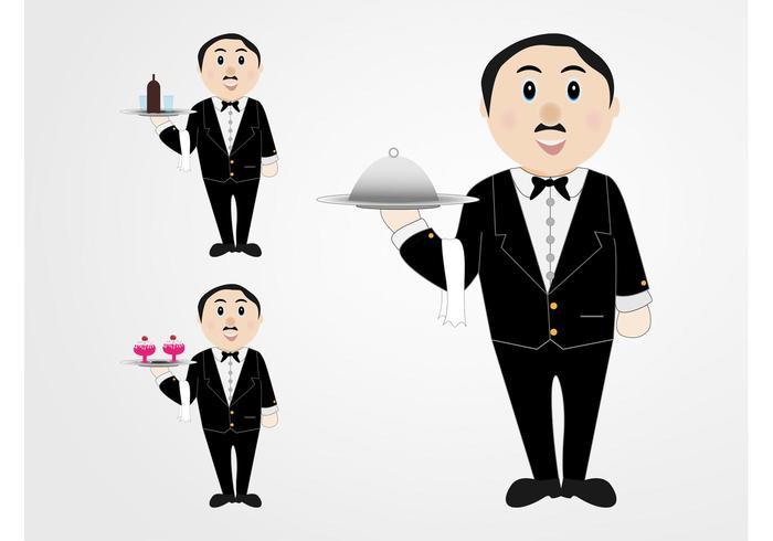 Waiters Vector