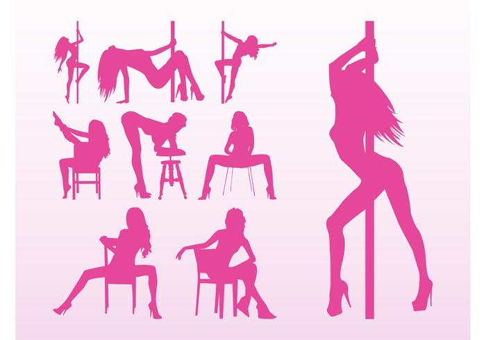 Stripper Girls Vectors