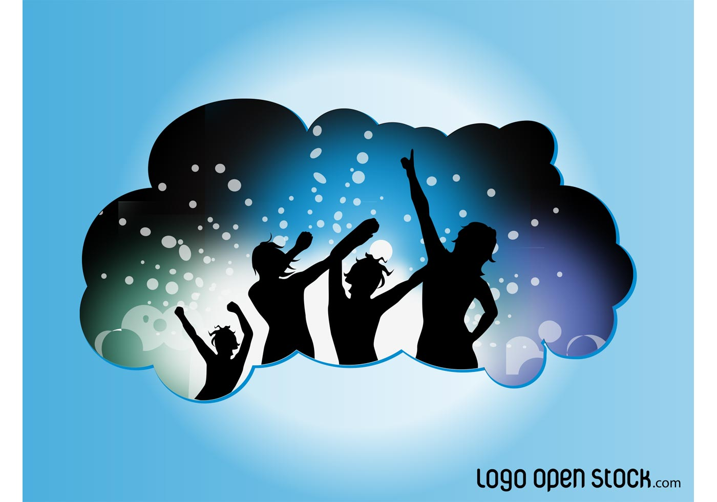 Vector Dance Party Download Free Vector Art Stock