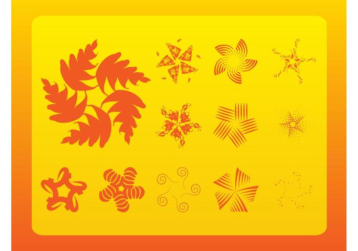 Flower Vector Icons