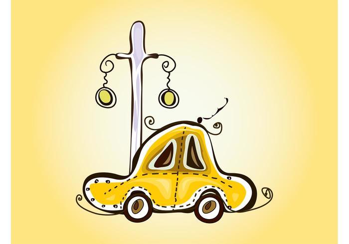 Croquis de taxi