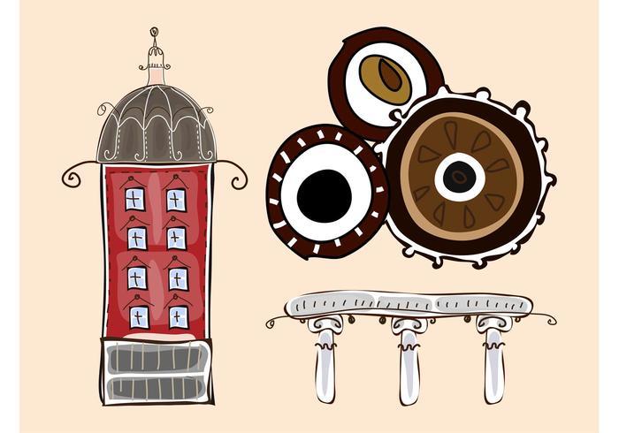 Doodles urbains