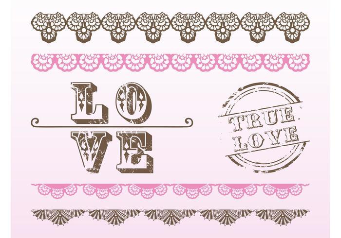 Vintage Love Vectors