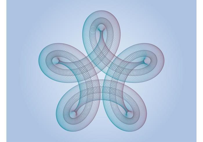 Swirling Star Vector