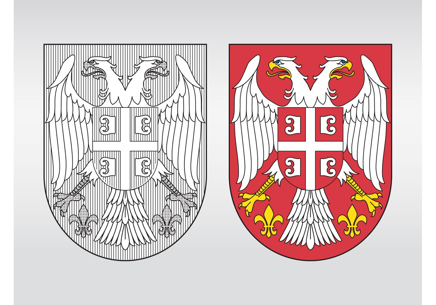 Serbia Coat Of Arms Download Free Vector Art Stock