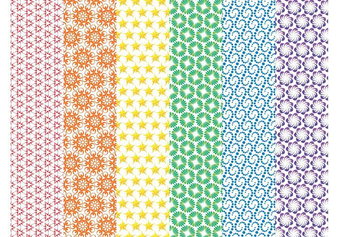 Colorful Vector Patterns