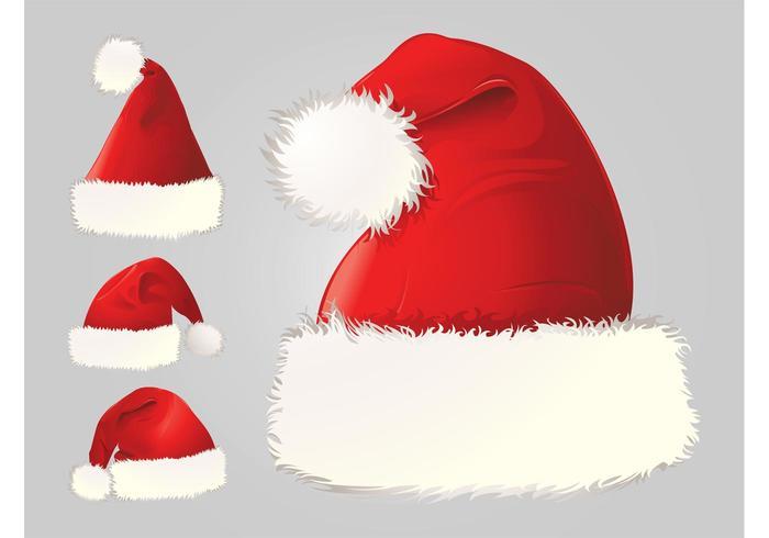Santa sombrero de vectores