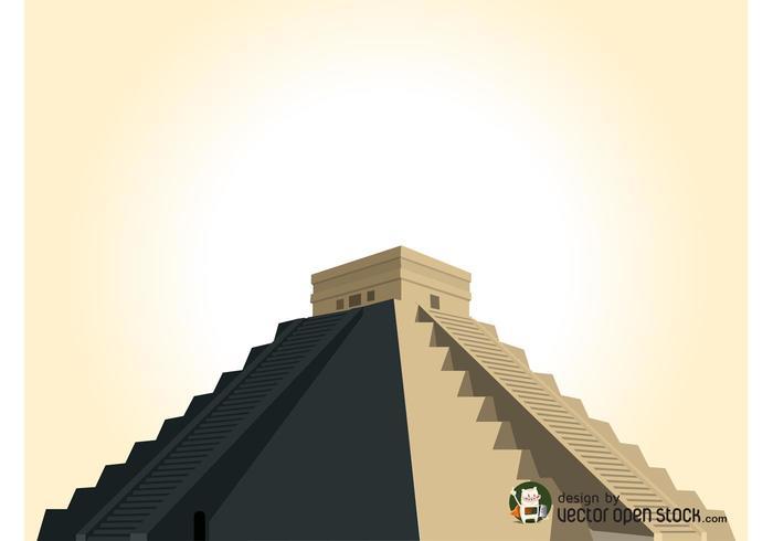 Vecteur pyramide maya