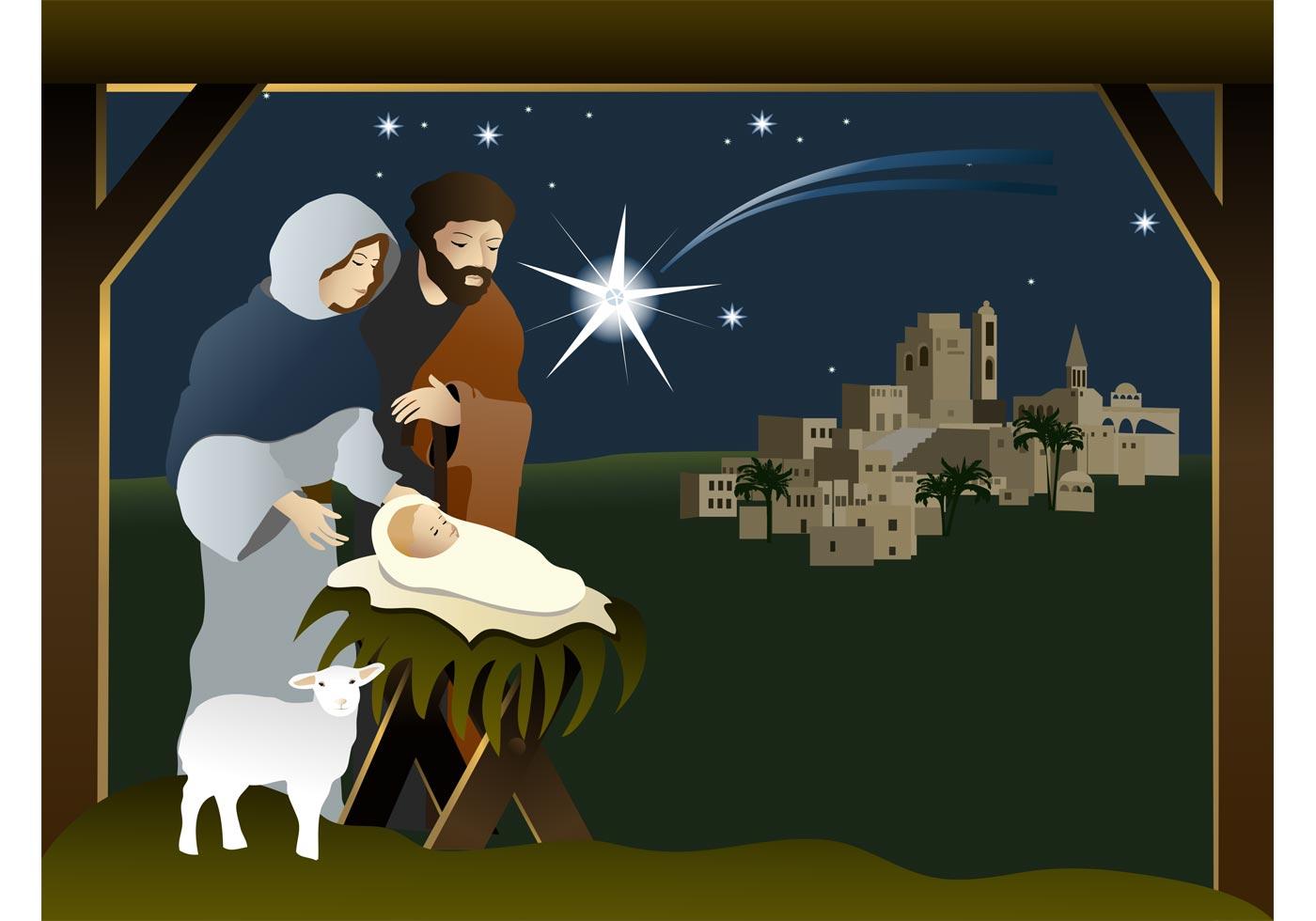 Nativity Scene Illustraties en vectorbeelden - iStock