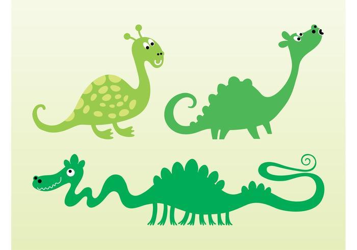 Cute Vector Dragons