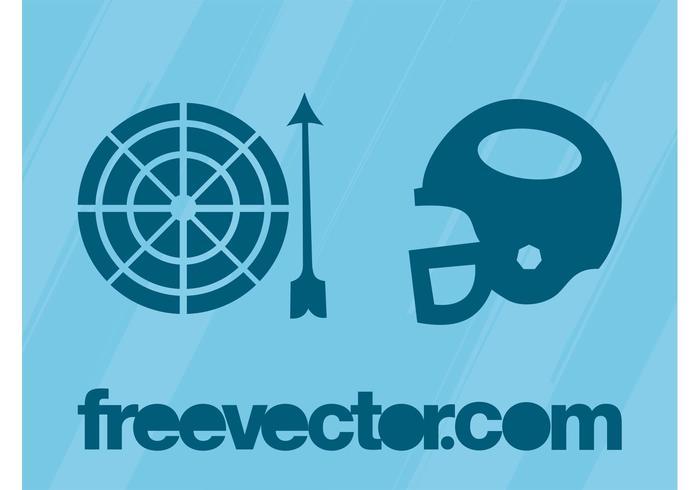 Símbolos Deportivos Vector