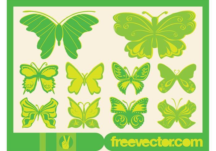 Vector Butterflies Graphics