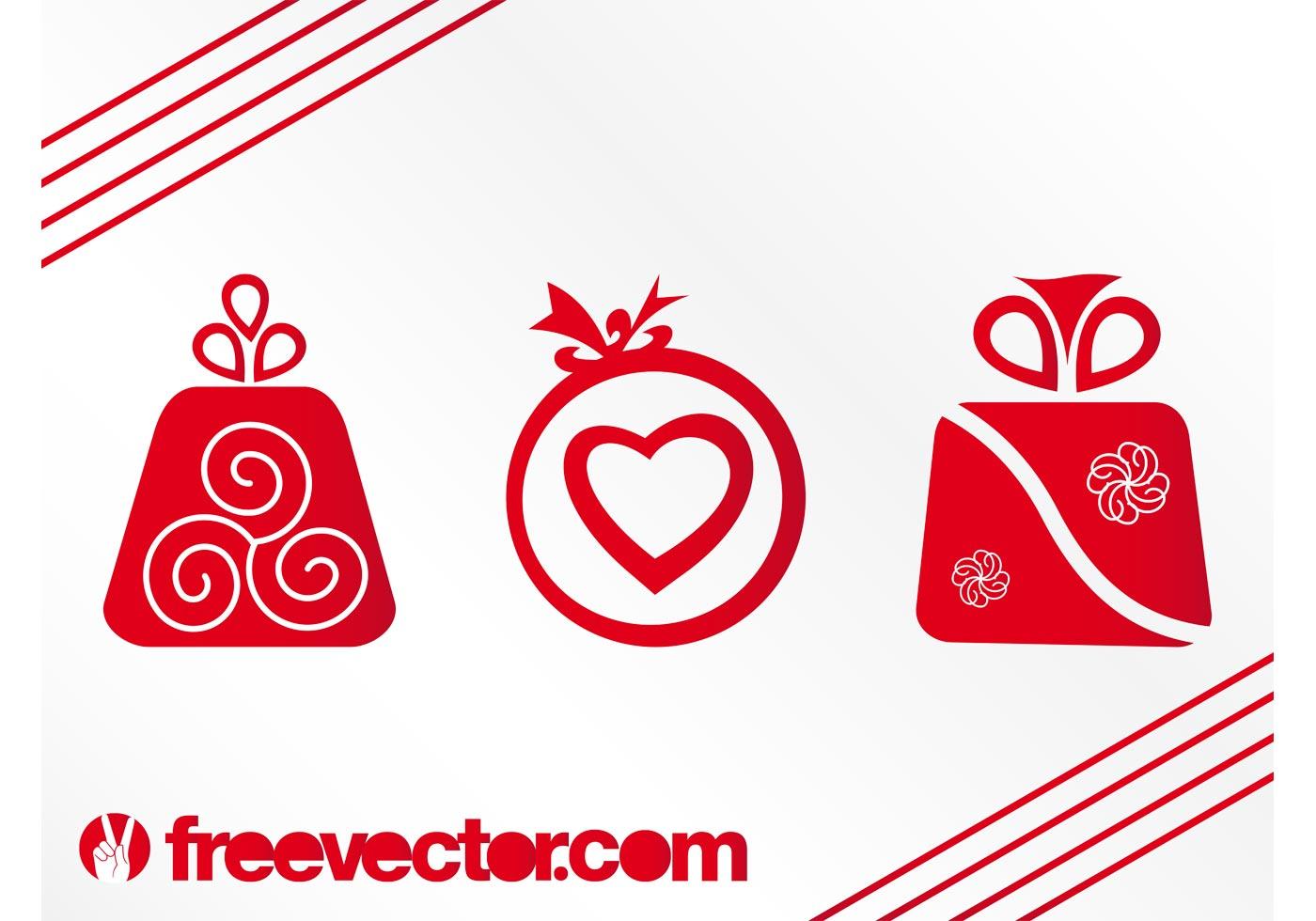 Vector Christmas Presents