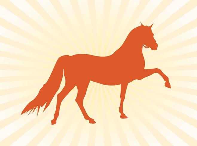 Vektor Pferd