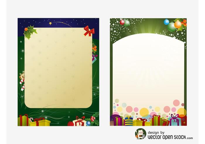 Modèles d'affiches de Noël