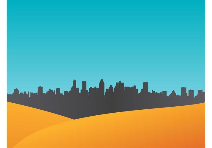 Fundo do vetor urbano