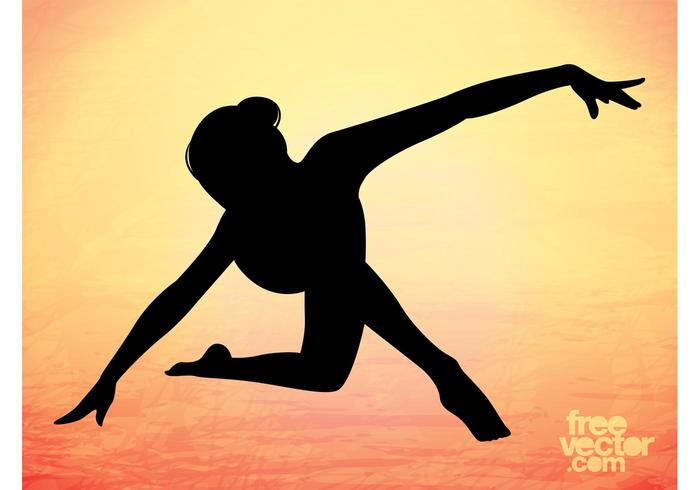 Elegant Dancer Silhouette