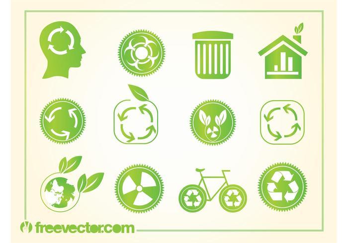 Logos de reciclagem