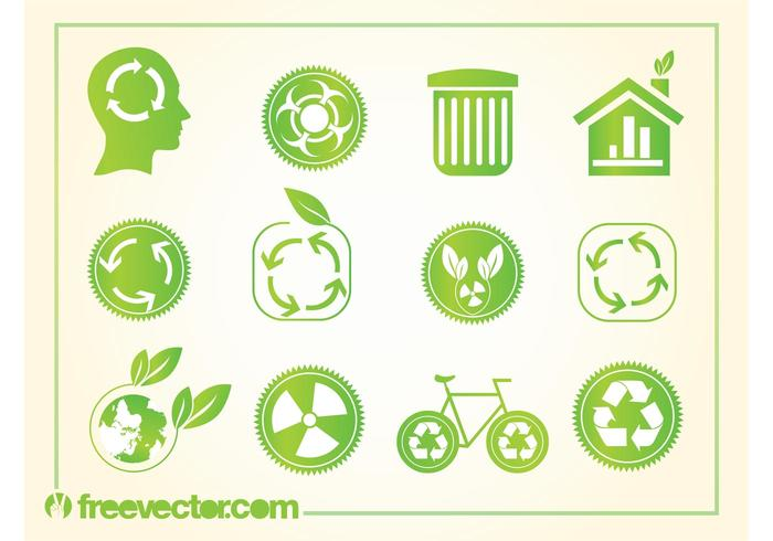 Recycling logo's