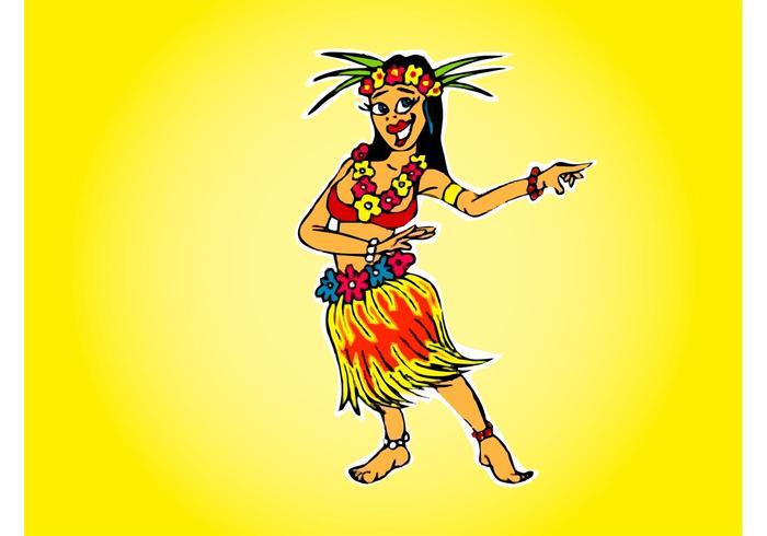Hawaiiaans Meisje