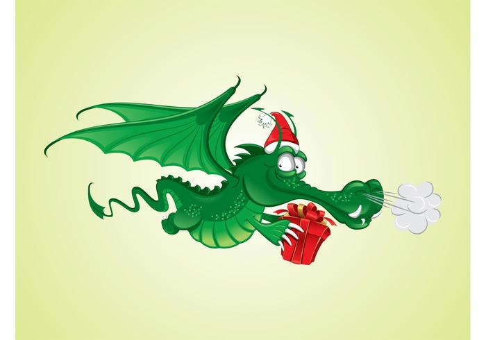 Weihnachten Dragon Graphics