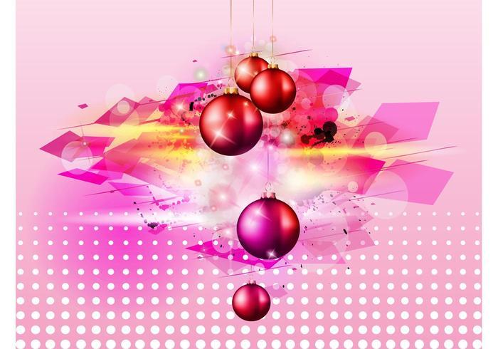 Brillantes bolas de Navidad