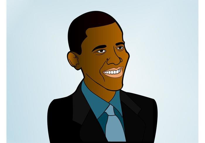 President obama vektor